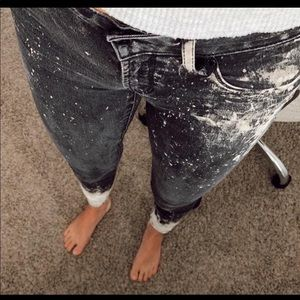 Articles of Society Hand-dyed Skinny Jeans